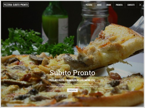 Sito per Ristorante Pizzeria
