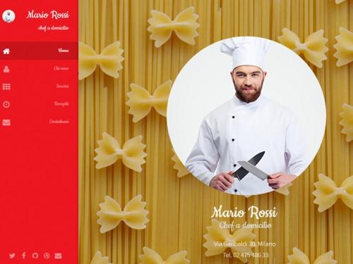 Sito per Cuoco – Chef