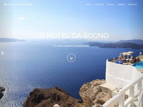 Sito web per Hotel