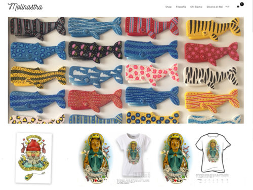 Ecommerce per T-Shirts & Merchandising
