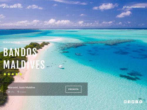 Courtesy Page per Turismo