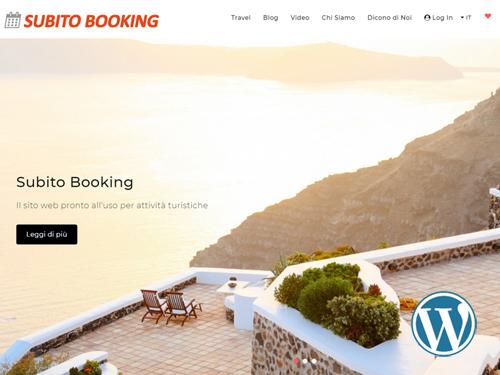 Subito Booking, sito web dinamico per Turismo